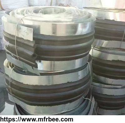 High quality and cheap steel edge rubber waterstop for building and construction
