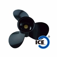 Propeller 58100-93743-019 3X9 1/4X11 Black Right Hand