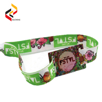 NFC Payment NTAG213 Woven Wristbands for event