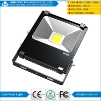 High lumen high quality meanwell driver fin led flood light 20w