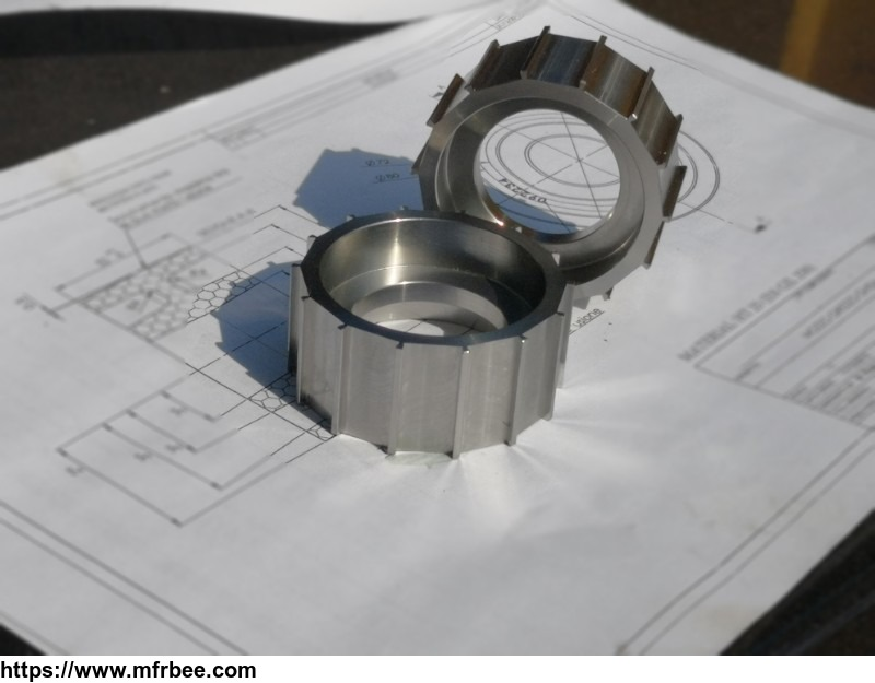 CNC turning low carbon steel parts for motor