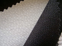 100% polyester 42gsm weft insert interlinings used on men and women's garments