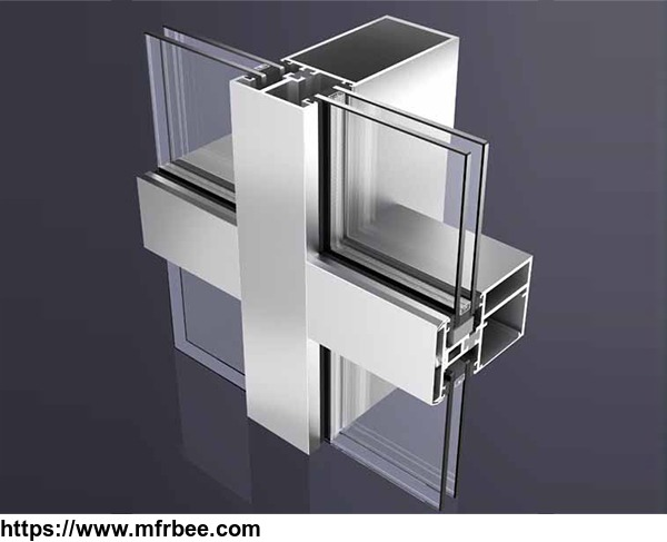 ALUMINUM EXTRUSIONS THERMAL BREAK PROFILES FOR CURTAIN WALL