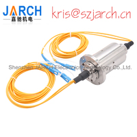 Low speed Single mode Dual Fiber SC LC FC ST Connector FORJ Fiber Optic rotary joint