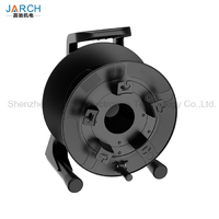 Professional unbreakable fiber optic cable reel with winder 380 mm Empty Cable Drum