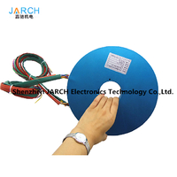 JARCH 3 wings rotating door 12 signals pancake/PCB slip ring for medical machines