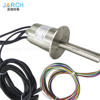 S136L Stainless steel IP68 protection grade 12 signals Waterproof Slip Rings