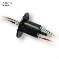 Shenzhen 12 Circuits Lead Free Shadowless lamp Video Connector Capsule Slip Ring