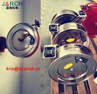 Spring Loaded Stainless Steel Water Reels Retractable Thermal Hose Reel for Gantry Crane