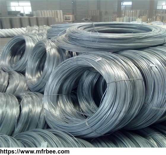 Hot Dip Galvanized Wire Cold Drawing of Galvanized Wire