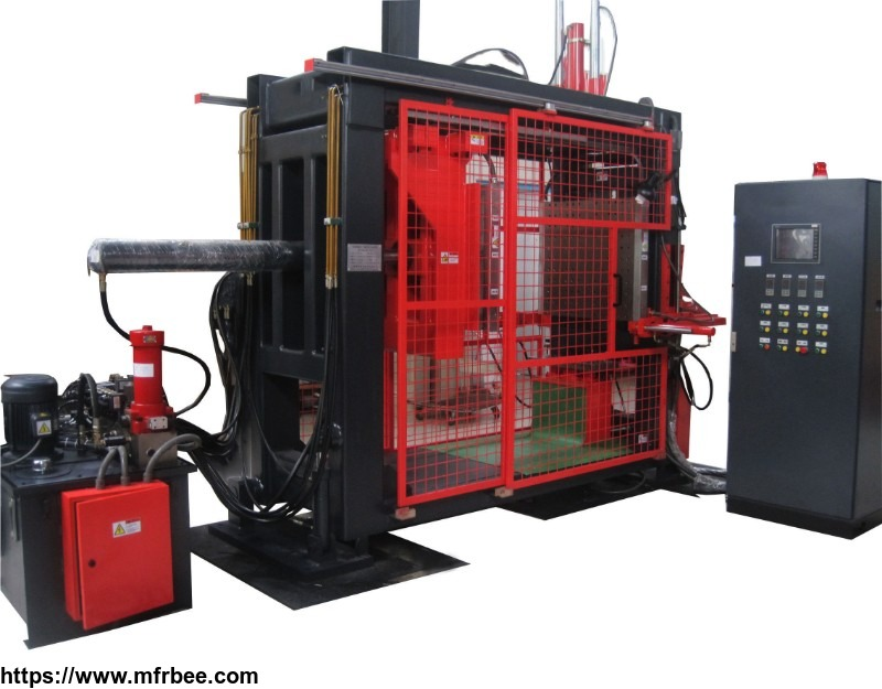 resin transfer molding machine for voltage instrument transformer
