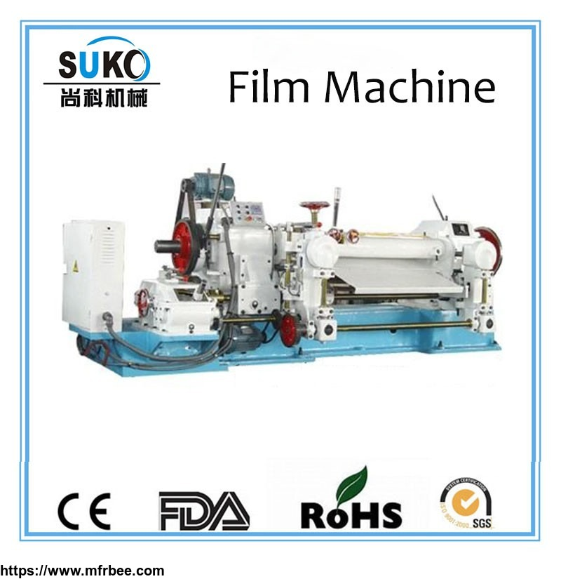 Plastic film extrusion machine for PTFE Teflon film