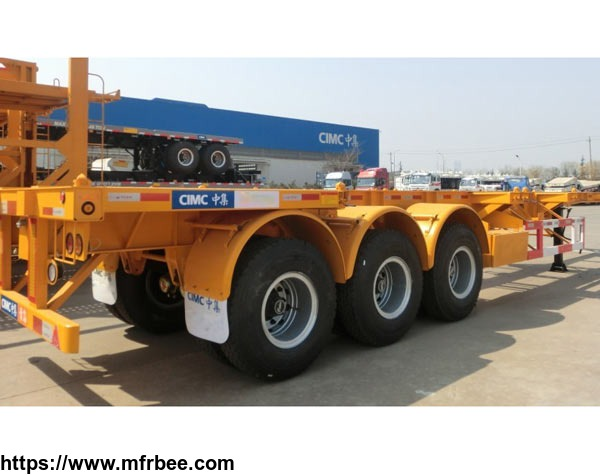cimc_3_axles_skeleton_container_semi_trailer_40ft_container_trailers