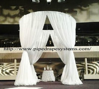 Event Wedding Tent Wall Backdrop Stand Pipe and Drape system