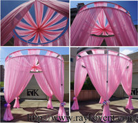 wedding tent, wholesale wedding decoration pipe and drape booth