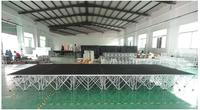 portable smart stage system for event