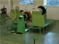 Automatic horizontal wire coil winding machine