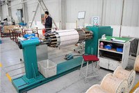 Transformer horizontal wire coil winding machines