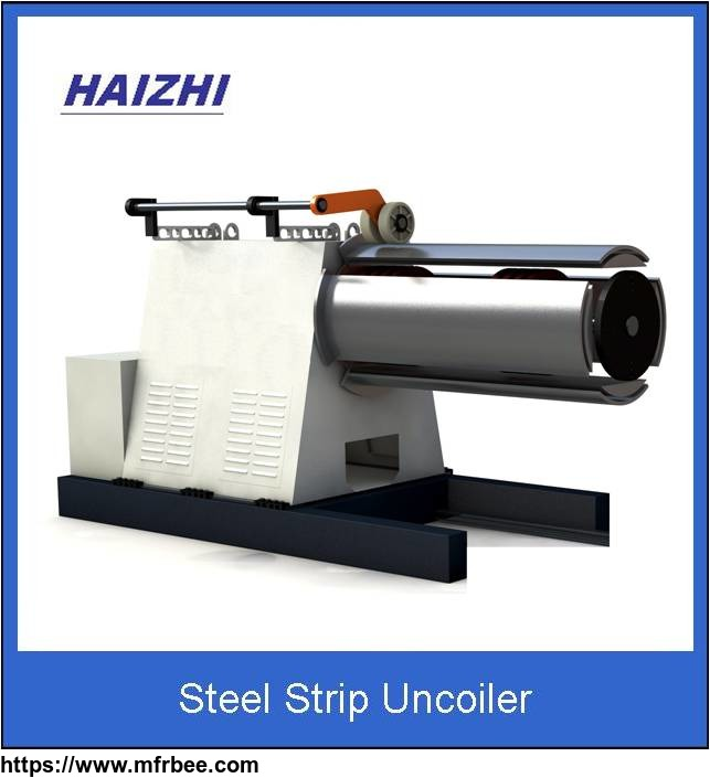Steel strip uncoiler metal bellow expansion joint forming