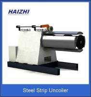 Steel strip uncoiler metal bellow expansion joint forming machine