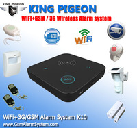 Wifi+GSM/3G Home Care Alarm System K10