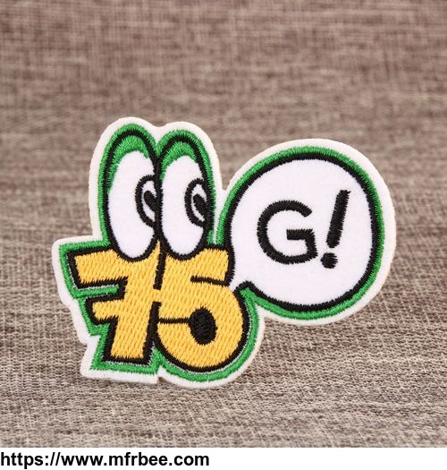 Funny Go Custom Made Patches