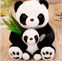Lifelike Giant Plush Panda bear Stuffed Animal Soft Plush Panda Toy