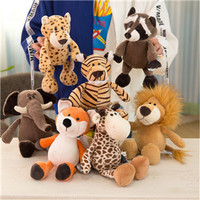 Hot sale super cute forest animal plush toys