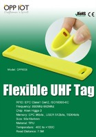 Flexible Tag on non-metallic surface