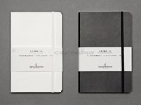 Black Notebook With Leather Cover