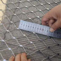 X-tend stainless steel ferrule rope mesh