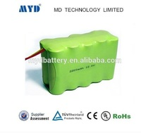 Shenzhen battery aa 12v 2200mah Nimh battery pack for power tool