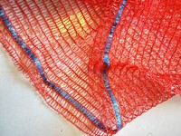 High quality pe vegetable onion raschel mesh bag
