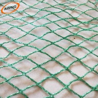 High strength HDPE anti bird screen high net with customized size