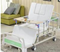 Electric turn over nursing bed for multi-functional home nursing home