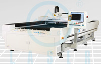 300/500W cut 5mm steel metal fiber laser cutting machine HS-F1325