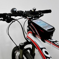 Bicycle Front Tube Bag Touch Phone Case For iphone 4/5 Samsung S3/4