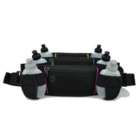 Neoprene waist bag with botter holders