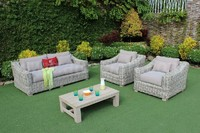 Outdoor Modern Conversation Set SIGMA Wicker RASF-125