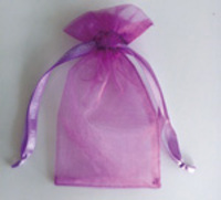 Eco-friendly organza drawstring bag,organza pouch wholesale