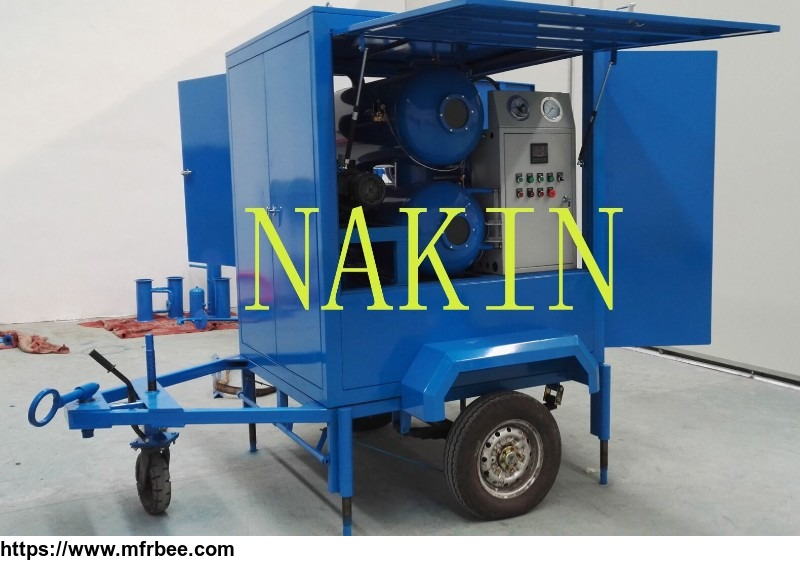 zym_mobile_type_vacuum_insulating_oil_purifier