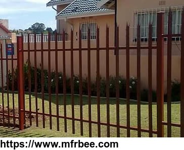 Palisade Fencing Steel Angle Pale