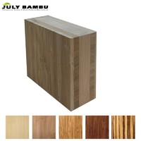 FSC Certificate 38mm 100% Solid Bamboo Lumber Use for Table Top, Wood Counter top