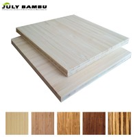 4' x 8' Laminated Bamboo Wood Boards for Covering Table top For Sale