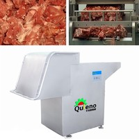 frozen meat block flaker cutter chopper machine