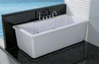Simple acrylic massage bathtub whirlpool bathtub(TMB038)