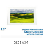 15 Inch Diagital Photo Frame GD1504