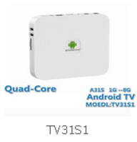 Quad-core Android TV TV31S1