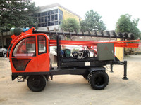 high quality Screw pile driver with best selling and lower