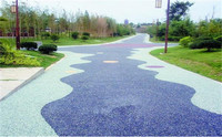 Environment-friendly Pervious no fines porous Concrete Pavement With good water permeability